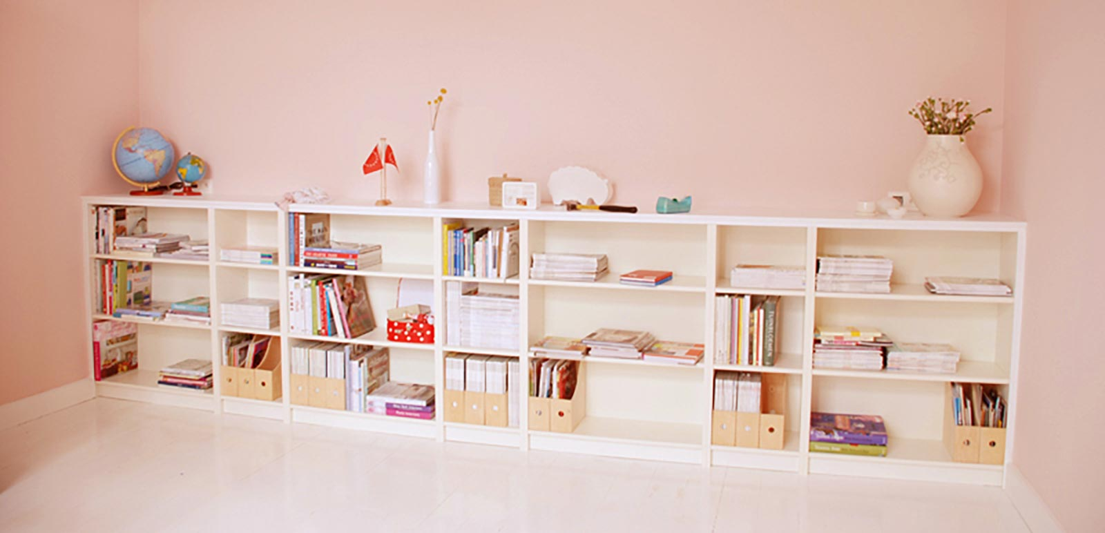 Pink—White-kids-bookshelf